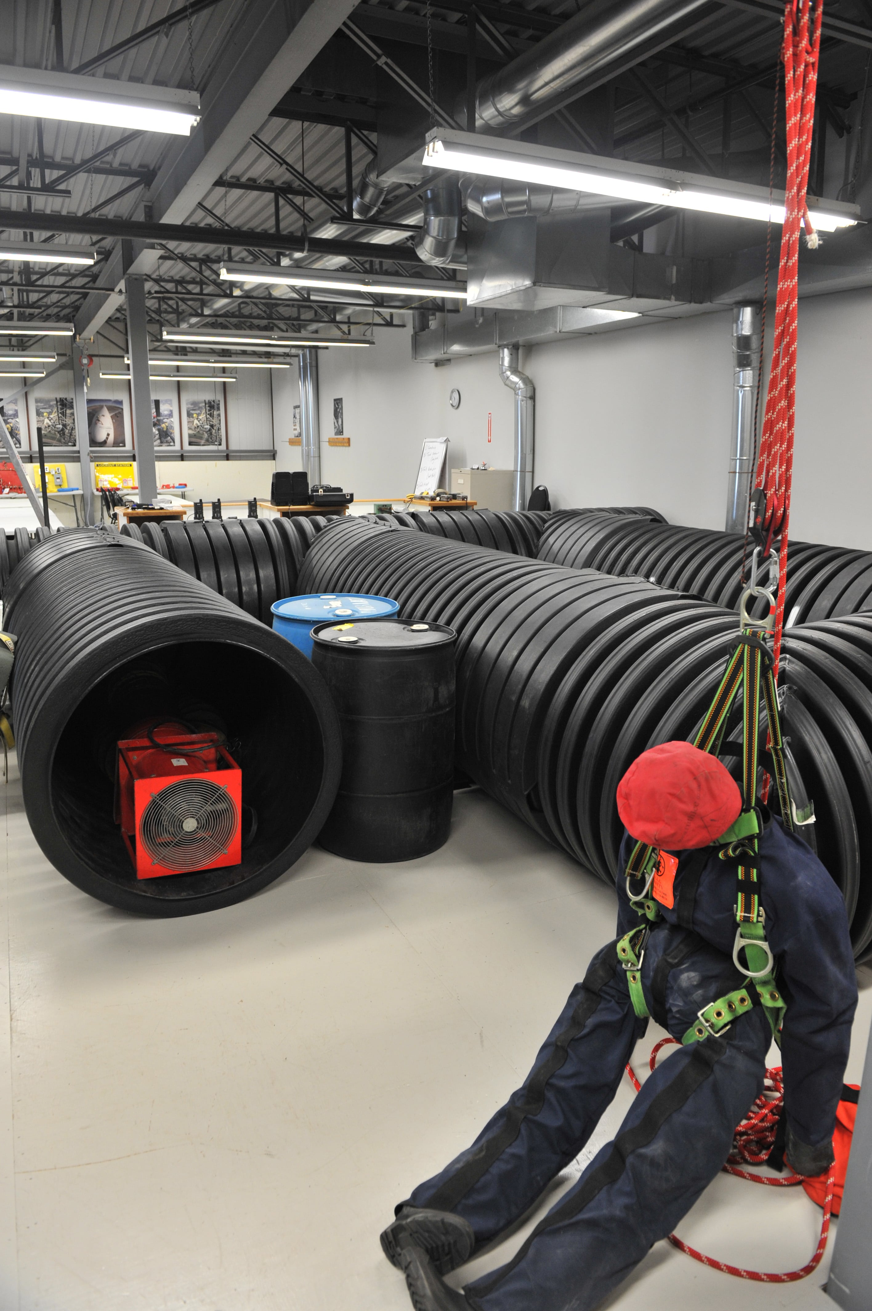 health and safety training center confined space maze